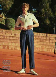 Zeit Showcases Tennis Inspired Fashions
