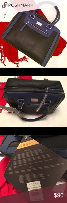 NWT Cross Purse (Galicia) Beautiful, chic new leather Cross purse with dust bag and Cross pen included. Zipper closure.  Comes with dust bag. Retails for $200+ Cross Bags Totes