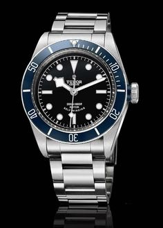8ed7f69310d Tudor - Heritage Black Bay - looks like a Rolex knockoff to me Gents Watches