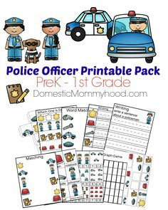 We always have a blast learning about different community helpers during Community Helpers Week. This week we are focusing on a Police Officer! Here is a great free Community Helpers Week Theme Pre-K Printable (Police Officer) that you can use either in your classroom or at home for the kiddos. Your child can practice their …