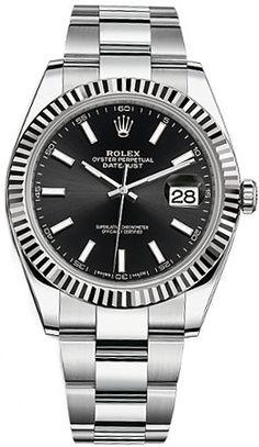 04267a0ee9c Authentic Rolex Men s 41MM Datejust Watch 126334