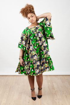The complete pictures of latest ankara short gown styles of 2018 you've been searching for. These short ankara gown styles of 2018 are beautiful Latest Ankara Short Gown, Ankara Short Gown Styles, Latest African Fashion Dresses, Short Gowns, African Print Fashion, African Attire, African Wear, African Dress, African Style