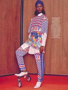 Alima Fofana for El Pais Semanal Magazine Spain March 2014