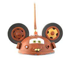 Mater Ear Hat Ornament | Ornaments | Disney Store