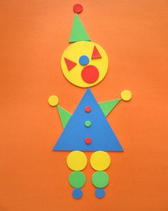 Activities: Make a Triangle-Circle Clown