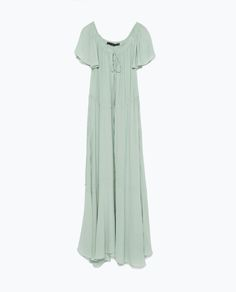 Image 9 of LONG STUDIO DRESS from Zara