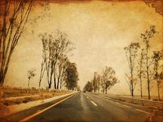 Viaje en carretera. México