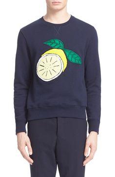 AMI Alexandre Mattiussi Lemon Sweatshirt