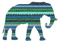 A fun elephant graphic. Elephant Art, Print Patterns, Art Photography, Tumblr, Graphic Design, Art Prints, My Love, Ark, Inspiration