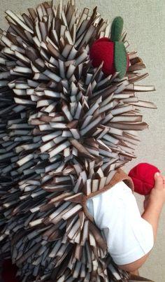 Hedgehog costume/Toddler Costume/ Kids Costume/hedgehog by Divendi