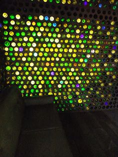 beautiful bottle wall. Similar to the bar at Tempest; the light is wonderful.