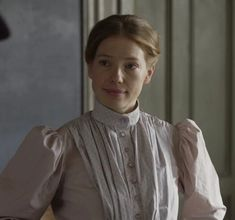 - Miss Muriel Stacy is a newcomer in Avonlea, and the new (and first female) teacher after Mr. She is a character portrayed by Joanna Douglas. She has blonde hair which she often wears pinned up on her head. Gilbert Blythe, Lucas Jade Zumann, Avatar, Laura May, Amybeth Mcnulty, Anne White, Netflix, Olivia Hussey, Anne With An E