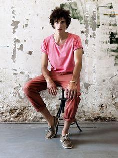 The Man's Fashion: Calça Vermelha                                                                                                                                                                                 Mais