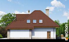 Elewacja boczna projekt dom w rukoli n ver 2 265