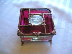 Stained Glass Jewelry Box  Stained Glass by CreativeSpiritGlass
