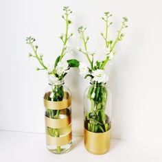 D I Y - How to repurpose glass bottles — Tutorial