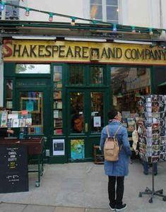 Discover Paris / Shakespeare and Company It might just be the world's most photographed bookshop. In front of Notre Dame, Shakespeare and Company (37 Rue Bûcherie) brings in hundreds of tourists at any time of the year. This independent bookshop opened in 1951, after the original was closed during the Second World War.
