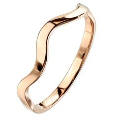 This beautiful stackable hypoallergenic rose gold stainless steel ring has an elemental wave pattern representing the Winds of Change, the emotions one carries, or the Fire within the wearer's soul. This simple stackable design will make a great everyday fashion ring for those that love minimalist jewelry. The elemental wave-style ring band is fashioned from hypoallergenic 316l stainless steel. This fashion ring has an eye-catching high polish rose gold color stainless steel finish. The… Sell Gold, Stainless Steel Rings, Rose Gold Color, Minimalist Jewelry, Gold Bangles, Fashion Rings, 1 Piece, Band Rings, Piercing