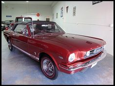 1966 Ford Mustang Convertible - my absolute all time number one dream car!