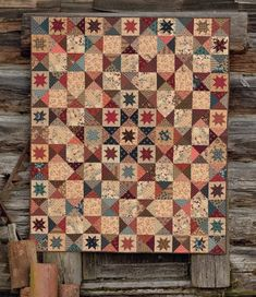 Country Threads is back with their latest book, The Blue and the Gray. If you love Civil War quilts, you simply can't miss it. Connie Tesene—half of the Country Threads team—gives us a behind-the-scenes look at how this beautiful new book came to be.