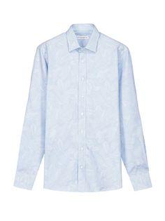 Shirts Man: Jacquard Shirt With Floral Motifs | Etro