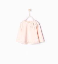 Organic cotton T-shirt with tulle bows-T-shirts-Baby girl | 3 months - 3 years-KIDS | ZARA United States