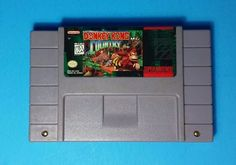 Donkey Kong Country Super Nintendo 1992 Game SNES Cleaned Tested Works