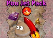 Pou Jet Pack | Garfis juegos online