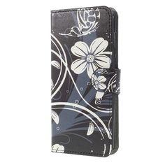 Housse Huawei Mate 10 Lite - Fleurs blanches et papillon
