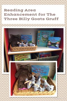 The Three Billy Goats Gruff Reading Area enhancements. Traditional stories EYFS.