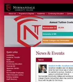 Normandale Community College 9700 France Ave S Minneapolis MN 55431 - Colleges & Universities