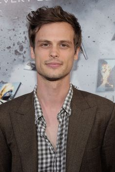 Someday, Matthew Gray Gubler will realize we were meant to be together.