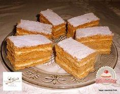 Dupla karamellás-tejszínes szelet