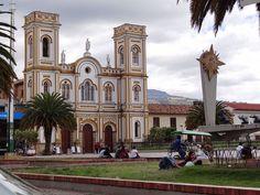 Parque de la Villa en la ciudad de Sogamoso, departamento de Boyacá, Colombia