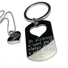 her one her only dog tag necklace set personalized gifts for