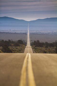 It's a Long Road, Hwy 167 | California (by Bun Lee)