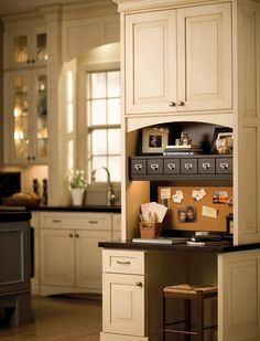 Love the kitchen; also love the semi cabinet wall that somewhat separates the sink.