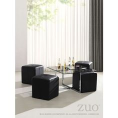 Botero Coffee Table Set by Zuo Modern 105000