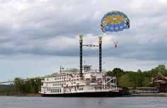 The Branson Belle - entertainment ship at Branson, Missouri