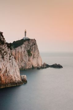 Dukato Lighthouse, Lefkada Greece