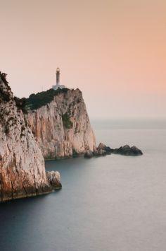 Dukato Lighthouse, Lefkada Greece