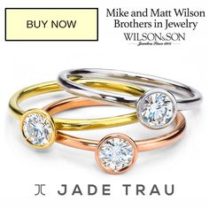 #jewelry #PreciousTrends Tis the season for layering—your rings! The Duet Collection #jadetrau http://qoo.ly/7cqbe/0