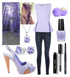 """""""Untitled #120"""" by shamelessreject on Polyvore featuring Bling Jewelry, Sergio Rossi, J Brand, Diane Von Furstenberg, Bobbi Brown Cosmetics, OPI, Eos, women's clothing, women's fashion and women"""