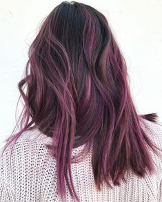 Trendy Haircut Halflong Pony – B . A Energy Rating Trendy Haircut Halflong Pony Trendy Haircut Halflong Pony Hair Color Purple, Hair Dye Colors, Subtle Purple Hair, Pink Color, Purple Brown Hair, Peekaboo Hair Colors, Light Purple Hair, Burgundy Hair, Purple Ribbon