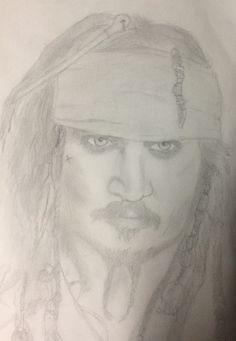 Captain Jack Sparrow  by face