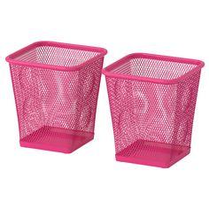 DOKUMENT Pencil cup - pink - IKEA