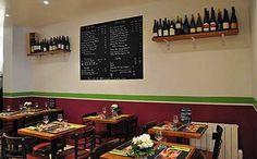 Restaurante de queijos e vinhos - Paris