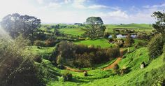 Hobbiton  #newzealand #hobbiton #hobbits #lotr #mountains #green #mountainside #mountainscape #forest #lake #travel #clouds #trees #red #landscape #water #hiking #yellow #vscocam #adventure #woods #reflection #wanderlust #mountainview #explore #sand #ocean #wilderness #sunrise by jonthetourist