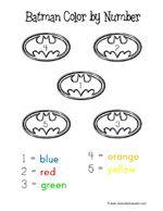 Fun Batman themed activities for Preschoolers
