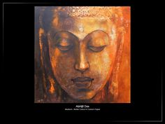 A spiritual practice is the art of shifting perspectives. An innovtaive work  by Abhijit Das titled Param Purush .